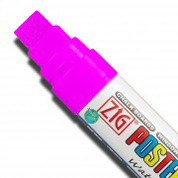 ZIG Posterman Large - Fluorescent Pink