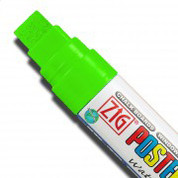 ZIG Posterman Large - Fluorescent Green