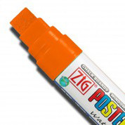 ZIG Posterman Large - Fluorescent Orange