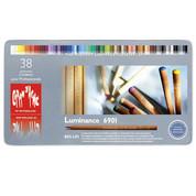 Caran D'ache - Luminance Coloured Pencil Set of 40