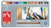 Caran D'ache - Luminance Coloured Pencil Set of 76 Assorted & 2 Blenders