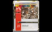 Caran D'ache - Pablo Water Resistant Colour Pencil Set of 18