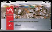 Caran D'ache - Pablo Water Resistant Colour Pencil Set of 40