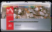 Caran D'ache - Pablo Water Resistant Colour Pencil Set of 80