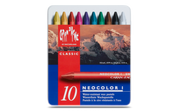 Caran D'ache - Neocolor I Water Resistant Pastel Set of 10