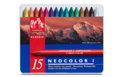 Caran D'ache - Neocolor I Water Resistant Pastel Set of 15