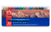 Caran D'ache - Neocolor I Water Resistant Pastel Set of 30