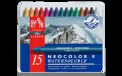 Caran D'ache - Neocolor II Water-soluble Pastel Set of 15