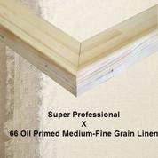 Bespoke: Super Professional x Oil Primed Medium Fine Grain Linen 66
