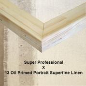 Bespoke: Super Professional x Oil Primed Portrait Fine Linen 13