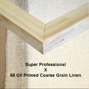 Bespoke: Super Professional x Oil Primed Coarse Grain Linen 68.