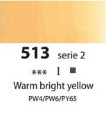 Sennelier Artists Oils - Warm Bright Yellow S2
