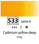 Sennelier Artists Oils - Cadmium Yellow Deep S6
