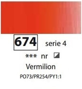 Sennelier Artists Oils - Vermilion S4