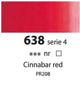 Sennelier Artists Oils - Cinnabar Red S4