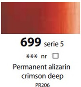 Sennelier Artists Oils - Permanent Alizarin Crimson Deep S5