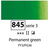 Sennelier Artists Oils - Permanent Green S3
