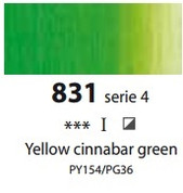 Sennelier Artists Oils - Yellow Cinnabar Green S4