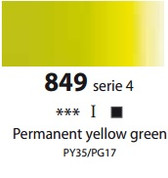 Sennelier Artists Oils - Permanent Yellow Green S4