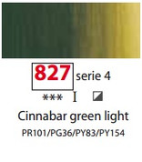 Sennelier Artists Oils - Cinnabar Green Light S4