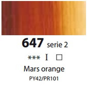 Sennelier Artists Oils - Mars Orange S2