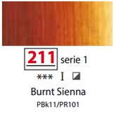 Sennelier Artists Oils - Burnt Sienna S1