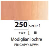Sennelier Artists Oils - Modigliani Ochre S1