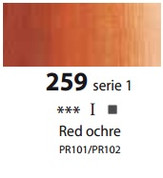 Sennelier Artists Oils - Red Ochre S1