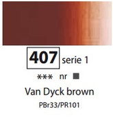 Sennelier Artists Oils - Van Dyck Brown S1