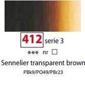 Sennelier Artists Oils - Sennelier Transparent Brown S3