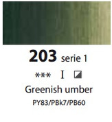 Sennelier Artists Oils - Greenish Umber S1