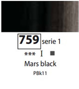 Sennelier Artists Oils - Mars Black S1