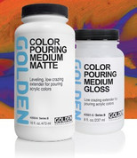 Golden - Colour  Pouring Medium Gloss