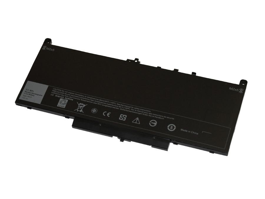 Dell Latitude E7270, E7470 4 Cell 55Wh Battery Type J60J5, MC34Y, 1W2Y2,  242WD