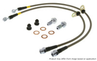 Stoptech Stainless Steel Front Brake Lines (89-98 S13/14)