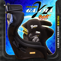 Thrash Racing Pro Spec Gamma One Fixed Back Seat
