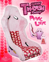 Thrash Racing Pink Love Fixed Back Seat