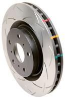 DBA 4000 Series T-Slot Slotted Rear Rotors (08-17 WRX)