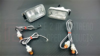 P2M Dual LED Position Lights for 180sx Type-X Bumper