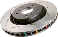 DBA 4000 Series T-Slot Slotted Rotor Pair Front (04-15 STI)