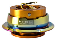 NRG Quick Release 2.8 (Rose Gold Body W/ Titanium Chrome Ring)