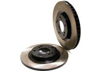 Centric Cryo-Treated Premium High-Carbon Front Rotor Pair (08-15 STI)