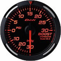 Defi Red Racer Boost Pressure Gauge 52mm