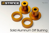 Stance Aluminum Differential Bushing Set (95-98 S14)