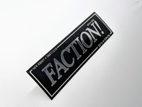 FACTION! New Jersey Drift Club - Team Sticker