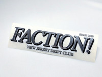 FACTION! New Jersey Drift Club - Die Cut