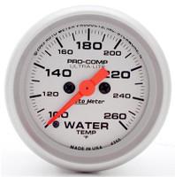 Auto Meter Ultra-Lite Series Water Temperature Gauge