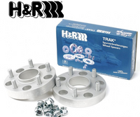 H&R TRAK+ Wheel Spacers DRM 25mm (09+ 370z)