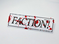 FACTION! New Jersey Drift Club - Blood Splatter Team Sticker