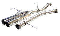 "ISR Performance Straight Dual 4"" Tip Exhaust (89-94 S13)"